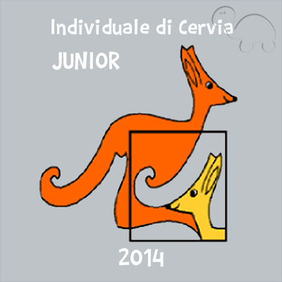 Gara individuale di Cervia - categoria Junior 2014